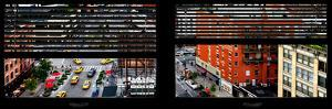 Window View with Venetian Blinds: Cityscape in Chelsea by Philippe Hugonnard