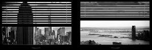 Window View with Venetian Blinds: Panoramic Format by Philippe Hugonnard