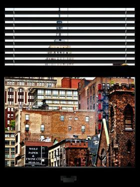Window View with Venetian Blinds: the Empire State Building View by Philippe Hugonnard