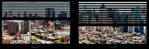Window View with Venetian Blinds: Theater District View by Philippe Hugonnard