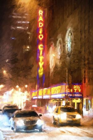 Winter night in New York II by Philippe Hugonnard