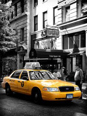Yellow Taxi Cab, Union Square, Manhattan, New York, United States by Philippe Hugonnard