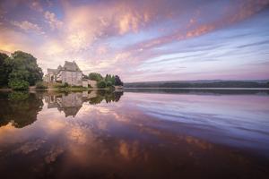 Abbaye De Paimpont in Broceliande by Philippe Manguin