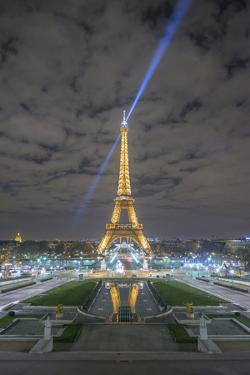 Eiffel Tower -View from the Trocadero by Philippe Manguin