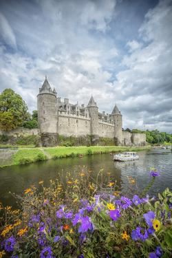 Josselin castle in Brittany by Philippe Manguin