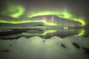 Kirkjufell Aurora II by Philippe Manguin
