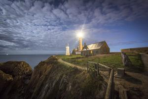 Pointe Saint Mathieu at night by Philippe Manguin