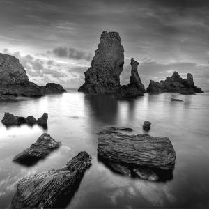 Port Coton Bw by Philippe Manguin