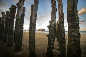 Saint malo beach by Philippe Manguin