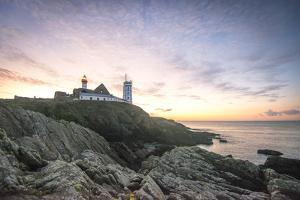 Sunrise on Pointe Saint Mathieu by Philippe Manguin