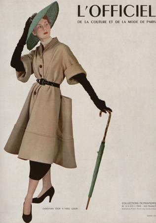 L'Officiel - Christian Dior, Tissu Lesur by Philippe Pottier