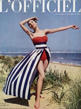 L'Officiel - Jacques Heim, Ensemble de Plage en Coton by Philippe Pottier