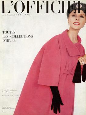 L'Officiel, October 1959 - Ensemble du Soir de Givenchy by Philippe Pottier