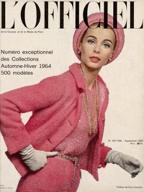 L'Officiel, September 1963 - Tailleur de Guy Laroche by Philippe Pottier