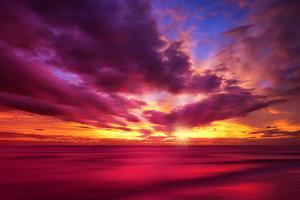 Colorful Sunset by Philippe Sainte-Laudy