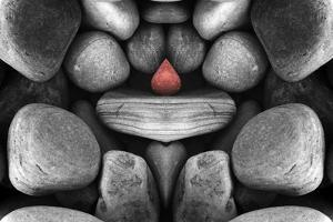 Composition of Pebbles by Philippe Sainte-Laudy