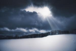 Light above the Snow by Philippe Sainte-Laudy