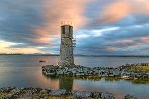 Long Exposure on Ballycurrin Lighthouse by Philippe Sainte-Laudy