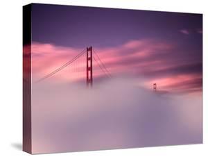 San Francisco Fog by Philippe Sainte-Laudy