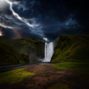 Skógafoss - Iceland by Philippe Sainte-Laudy