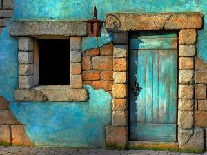 The Blue Door by Philippe Sainte-Laudy