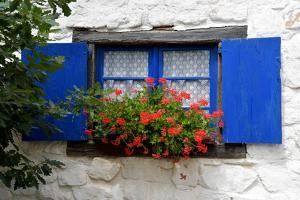 The Blue Shutters by Philippe Sainte-Laudy