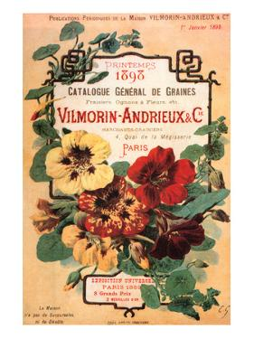Vilmorin-Andrieux Seed Catalog by Philippe-Victoire Leveque de Vilmorin