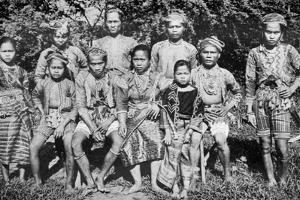 Philippine Islanders in Fete-Day Costume, 1926