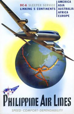 Philippine World Air Lines DC6