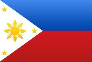 Philippines National Flag Poster Print