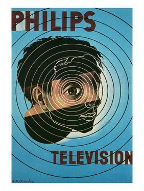 Philips Television Ad, Encircled Eye