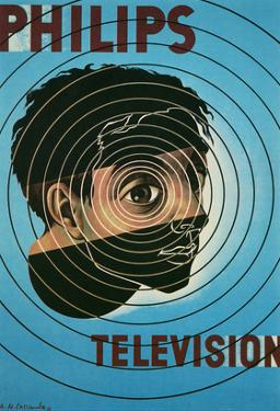 Philips Television Ad, Encircled Eye