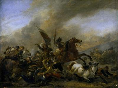 Refriega Entre Tropas Enemigas, 1648-1649