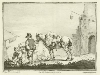 Traveller with a Horse