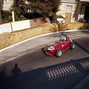 Phill Hill Racing a Ferrari D246, Monaco Grand Prix, Monte Carlo, 1959