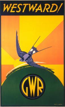 Westward!, GWR, c.1932 by Phillip Brown