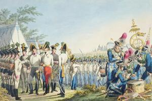 The New Imperial Royal Austrian Light Infantry after the Napoleonic Wars, C.1820 by Phillip Von Stubenrauch