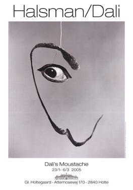 Dali's Moustache by Phillipe Halsman