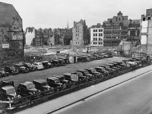 Car Park on Bomb Site by Phillips