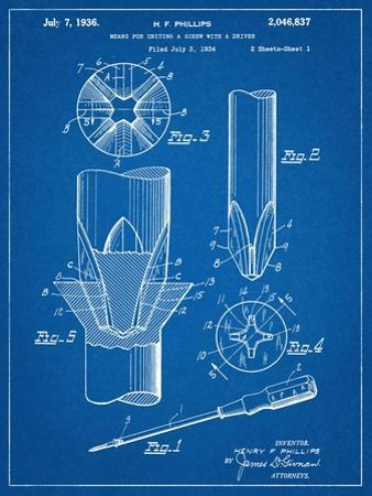 Phillips Screw Driver Patent