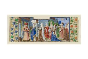 Philosophy Presenting the Seven Liberal Arts to Boethius, Ca 1465