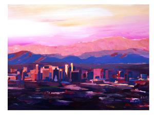 Phoenix Arizona Skyline2 by M Bleichner