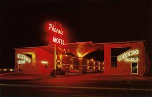 Phoenix Motel at Night