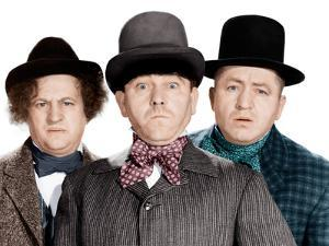 Phony Express, Larry Fine, Moe Howard, Curly Howard, (aka The Three Stooges), 1943