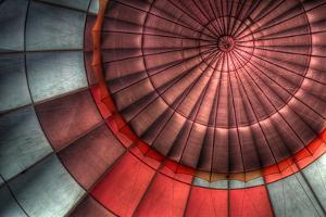 Interior of Hot Air Balloon by Photo by Greg Thow