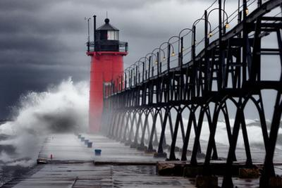 Hurricane Sandy in South Haven by Photo by John Crouch