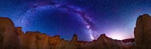360 Milky Way Pano at Paint Mines by Photo by Matt Payne of Portland Oregon