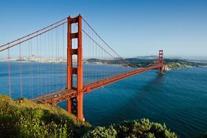 Golden Gate Bridge by Photo by Matt Payne of Portland Oregon