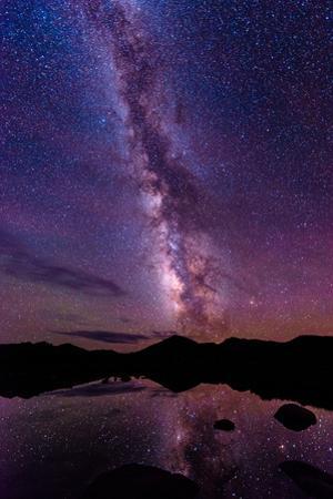 Milky Way Reflections by Photo by Matt Payne of Portland Oregon