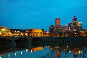 Downtown of Indianapolis by photo ua